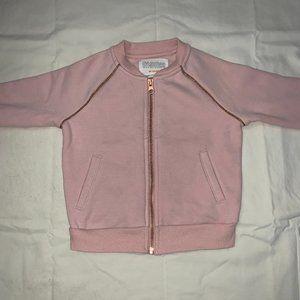 GYMBOREE KIDS Pink Zip-Up Sweater